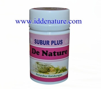 Obat Penyubur Kandungan Herbal de Nature
