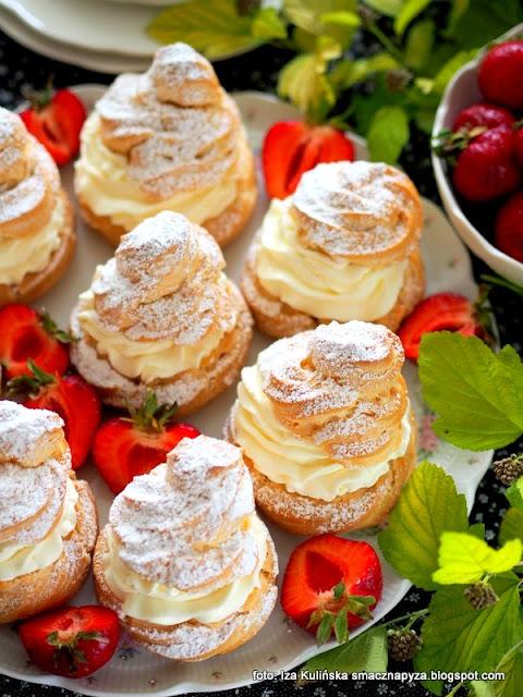 najlepsze ptysie , jak z cukierni , ciastka , bita śmietana , ptyśki , ciasto parzone , domowa cukiernia , moje wypieki