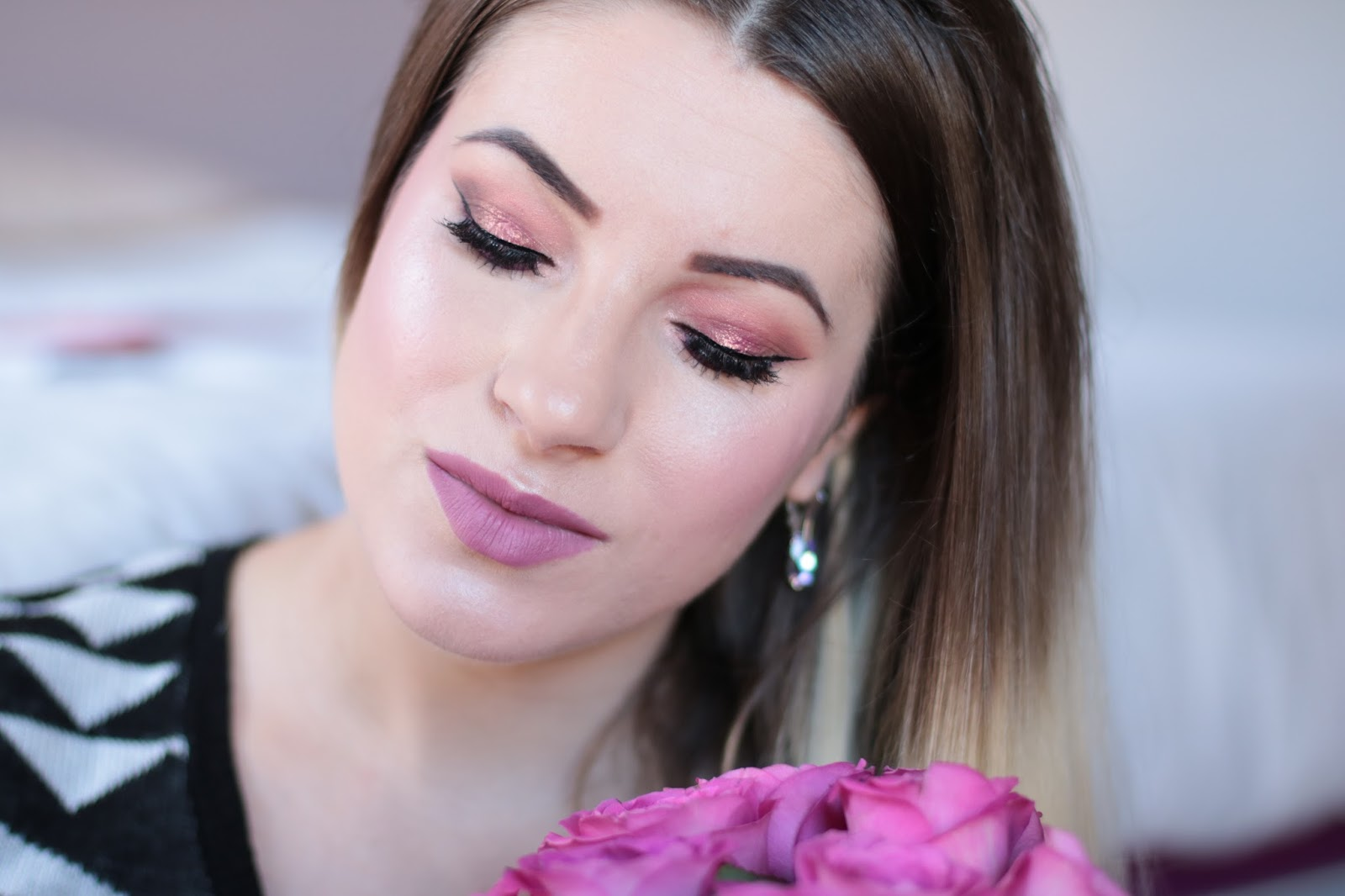 Inglot Makeup - Błysk Na Oku Mat Na Ustach