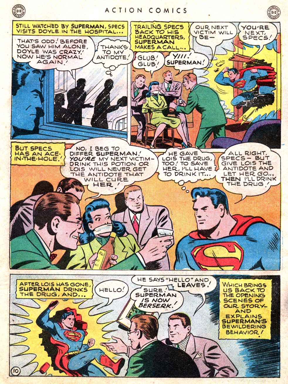 Read online Action Comics (1938) comic -  Issue #101 - 12