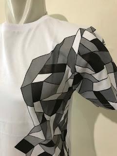 Kaos Baju Tshirt Gaming Steelseries Arctis Putih