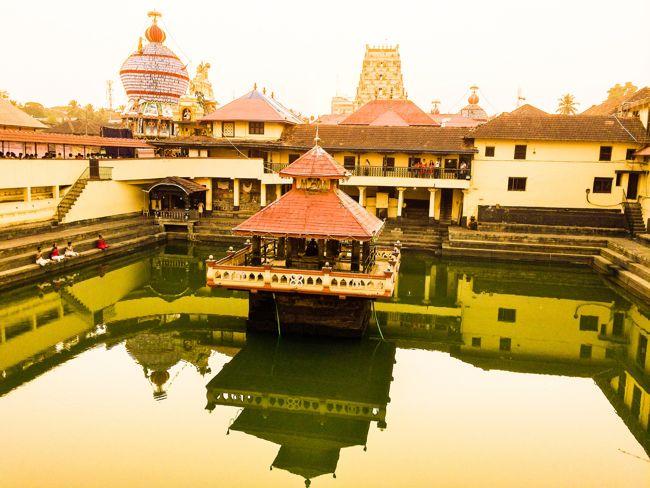 Udupi Sri Krishna Temple Tank