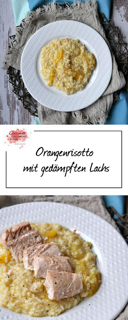 Orangenrisotto mit Lachs | Rezept | Kochen | Essen | Weight Watchers