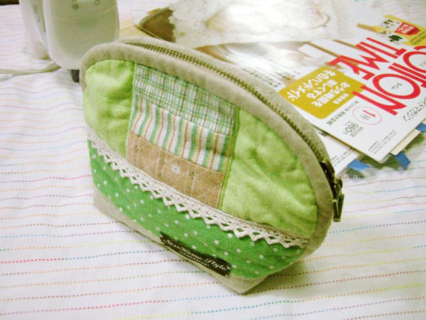 Cosmetic Bag Sewing Free Pattern.