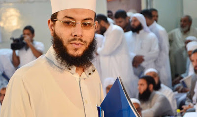 القبض على الشيخ محمود شعبان واقتياده لقسم الشرطة