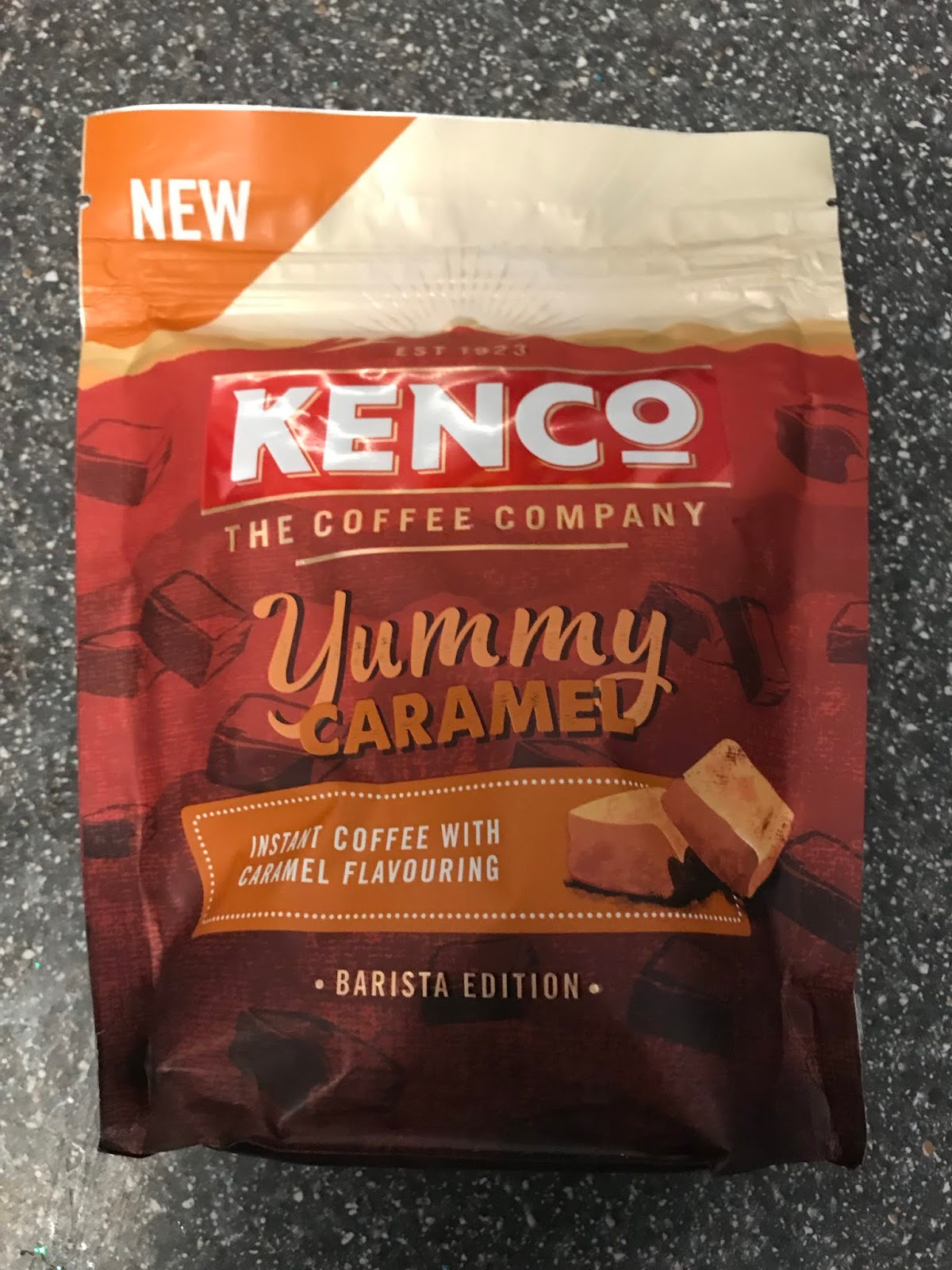 A Review A Day Todays Review Kenco Yummy Caramel Instant