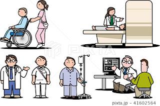 医療イラスト、イラスト制作、ストックイラスト、川野隆司、イラストレーター