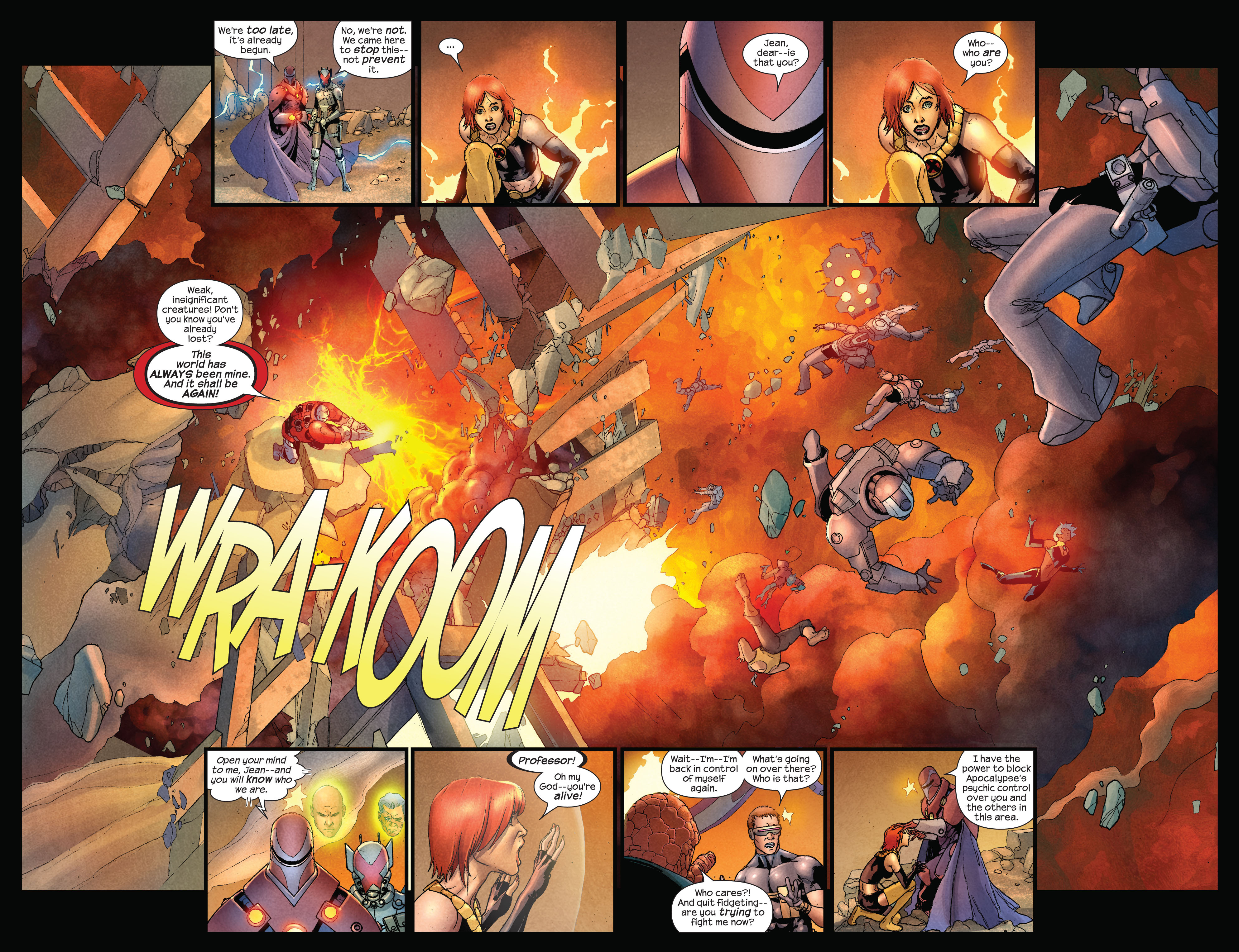 Read online Ultimate X-Men comic -  Issue #92 - 3