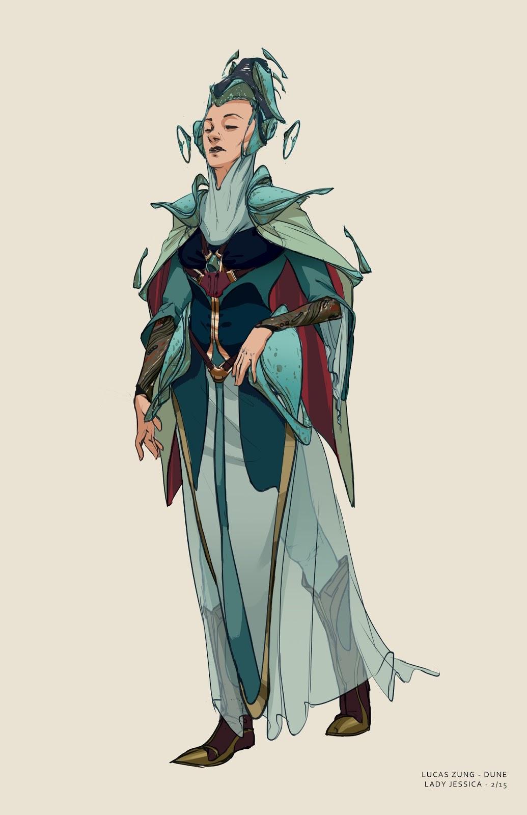 Lucas Zung Art: Dune Characters