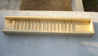 wooden sluice box