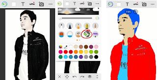 Cara Edit Foto Jadi Kartun di Android