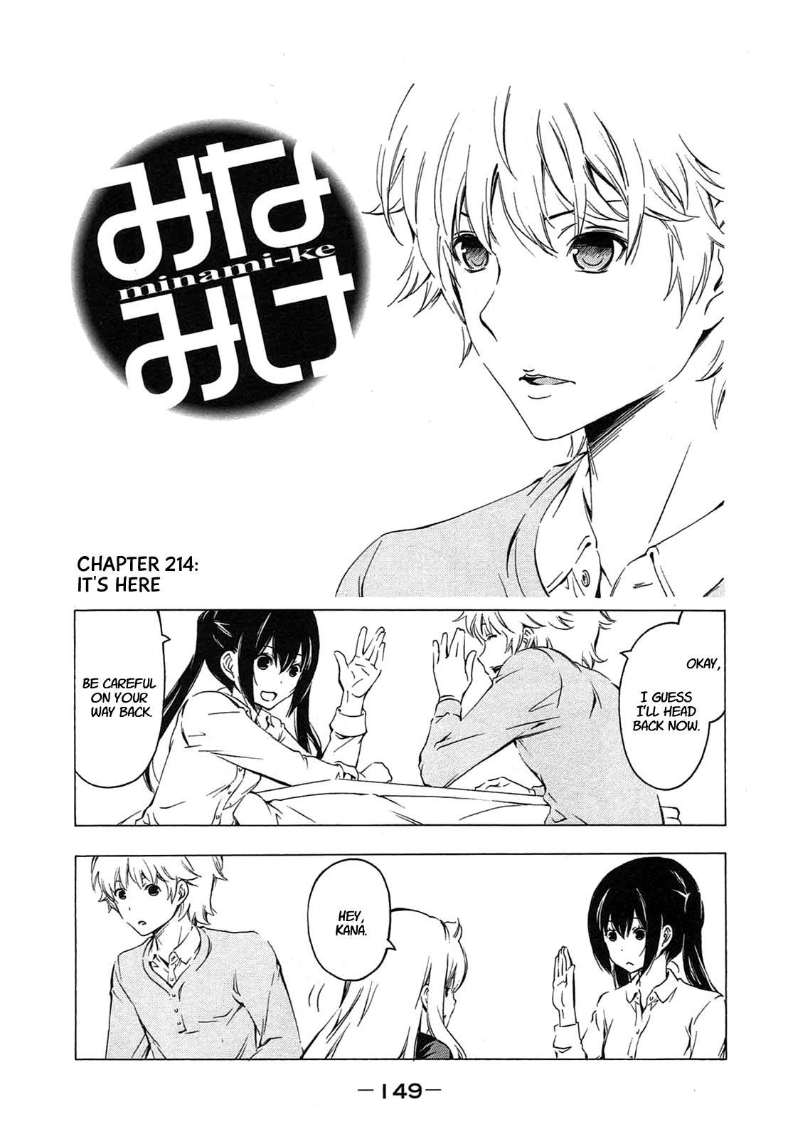 Minami-ke - Chapter 201