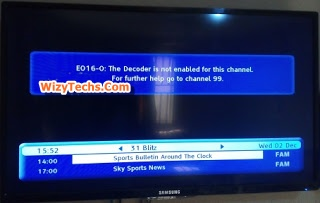 Best 3 Methods To Clear GOtv EO16-O Error Message On Your TV Screen