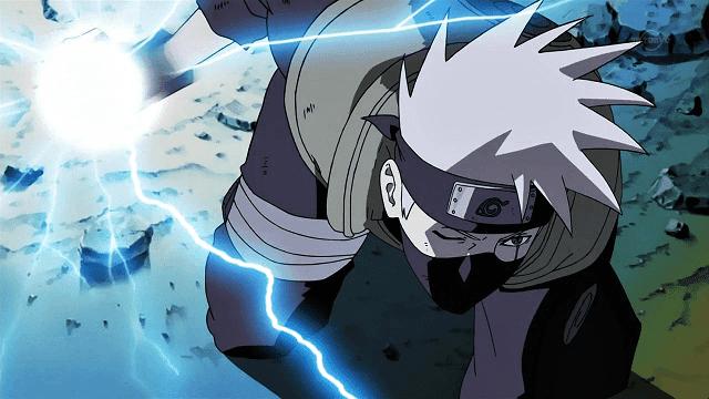 Raikiri dalam bahasa Inggris berarti Lightning Cutter atau pemecah kilat