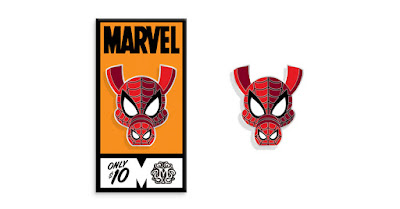 Spider-Man: Into the Spider-Verse Spider-Ham Portrait Enamel Pin by Tom Whalen & Mondo