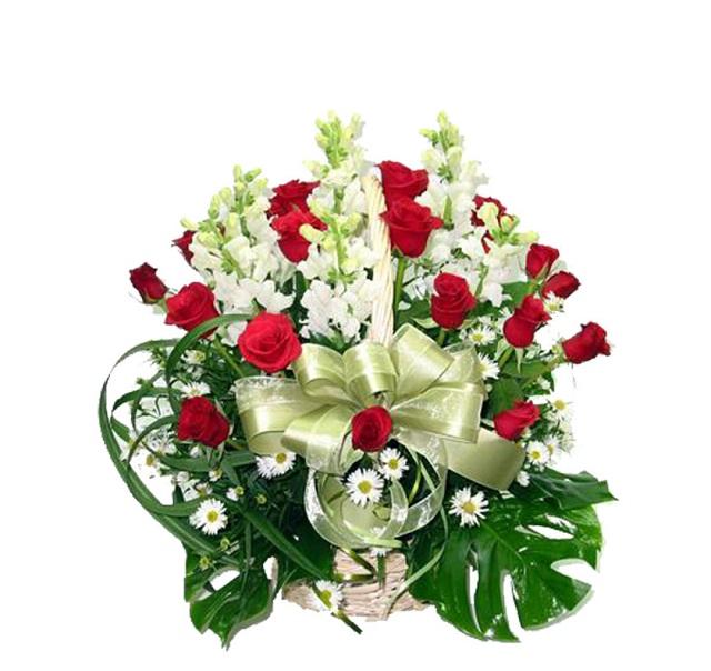 Bó hoa hồng đỏ đẹp nhất thế giới 8