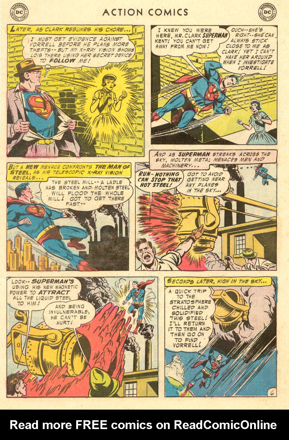 Read online Action Comics (1938) comic -  Issue #221 - 8