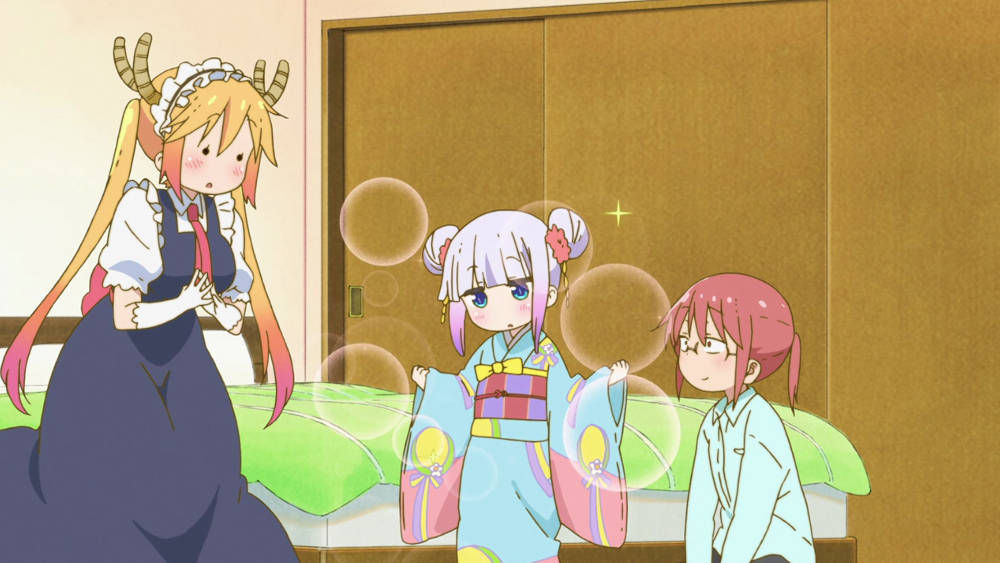 Kadr z Kobayashi-san Chi no Maid Dragon