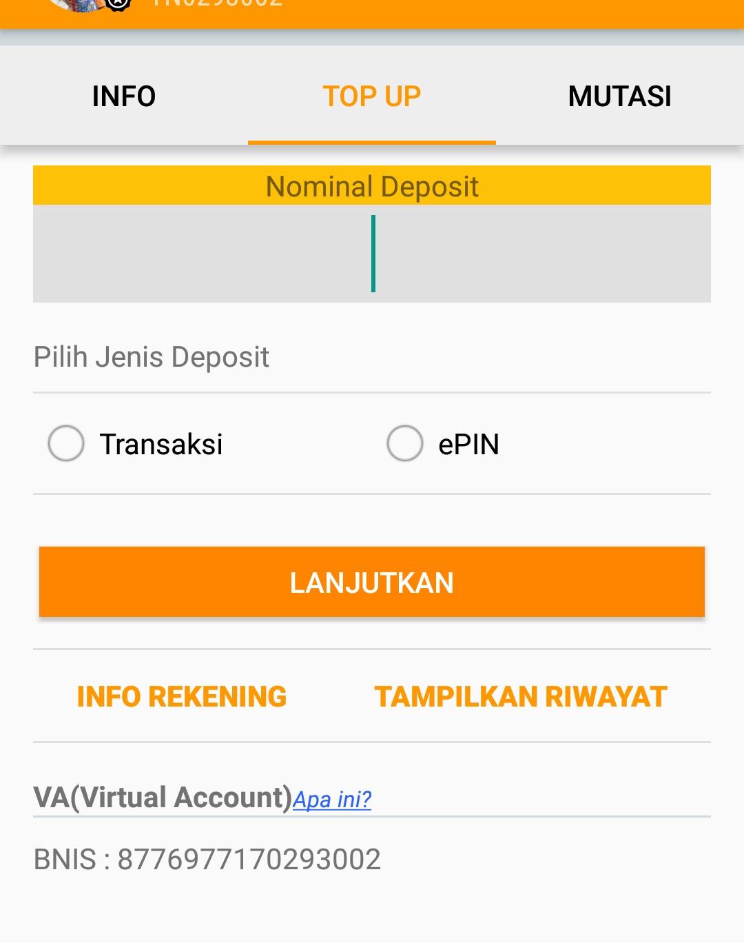 Virtual Account Paytren Terpercaya Aplikasi Pytren Melalui Setelah Nomor Va Didapat Mitra Sudah Bisa Melakukan Top Up Saldo Dengan Cara Transfer Ke Rekening Yang