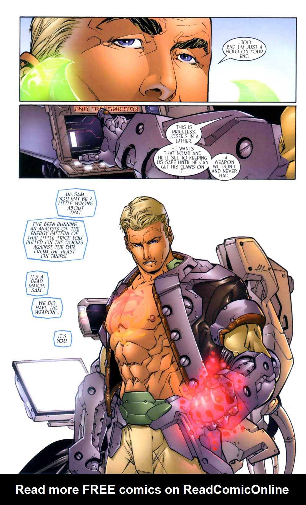 Read online Sigil (2000) comic -  Issue #3 - 7