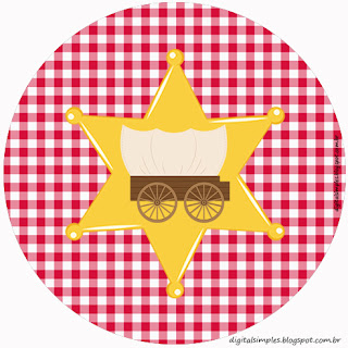 Little Cowboy: Free Printable Cupcake Wrappers and Toppers.