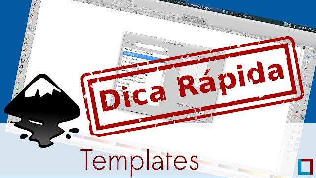 Vídeo: Veja como criar e configurar Templates no Inkscape