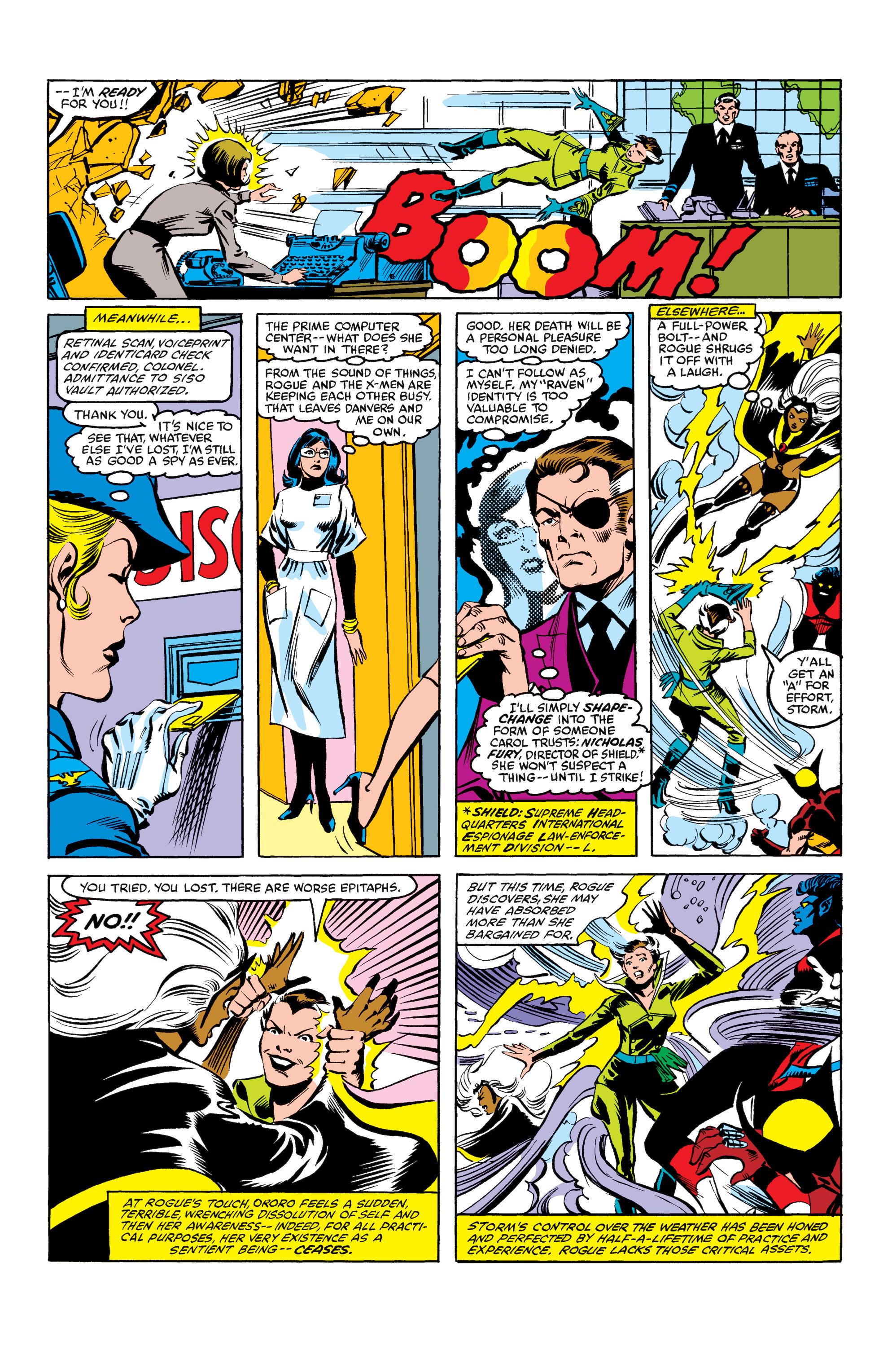 Read online Uncanny X-Men (1963) comic -  Issue #158 - 18
