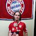 Você no Alemanha FC: Diogo Luiz Glaser e a filha Arabellyn Glaser