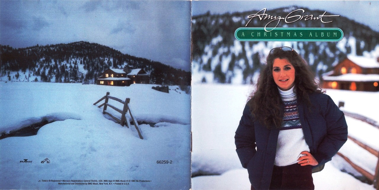 Amy Grant New Christmas Album.On The Road Again Amy Grant A Christmas Album
