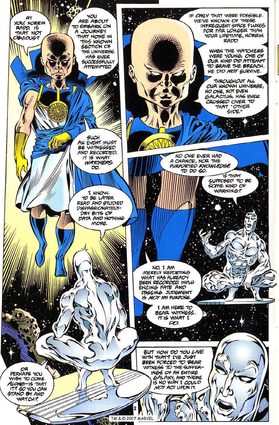 Silver Surfer (1987) Issue #112 #120 - English 4