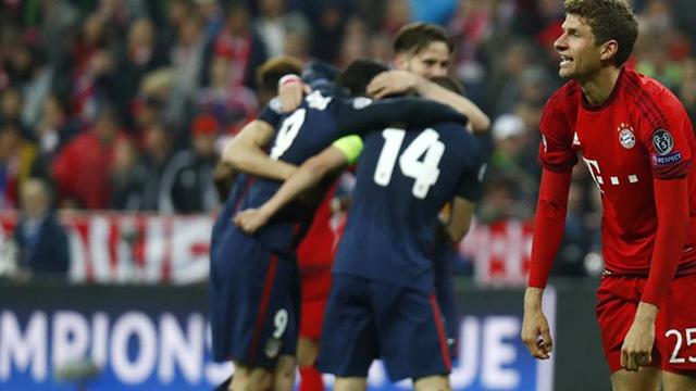 [Video] Cuplikan Gol Bayern Munchen 2-1 Atletico Madrid [agg 2-2] (Liga Champions)