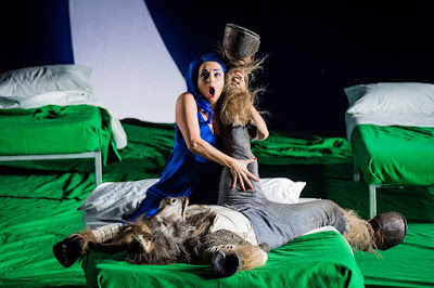 Britten: A Midsummer Night's Dream - Soraya Mafi, Joshua Bloom - English National Opera (Photo Robert Workman)