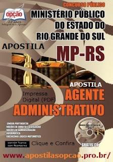 apostila Concurso MP RS 2017