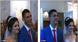Αρχικά φαίνονται σαν 2 Φωτογραφίες από ένα νιόπαντρο ζευγάρι. Μόλις όμως προσέξετε καλύτερα; Θα πάθετε ΣΟΚ..!
