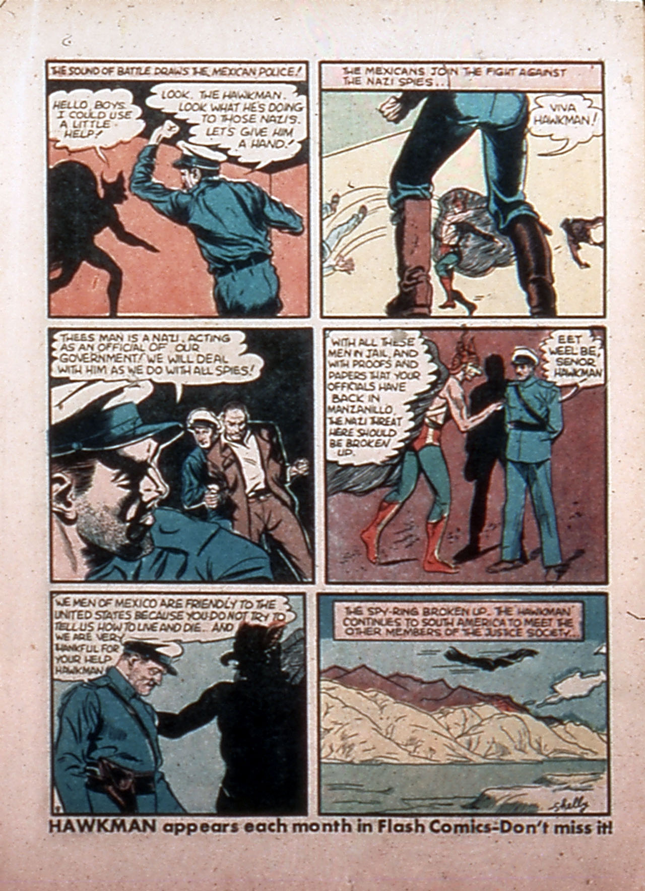 Read online All-Star Comics comic -  Issue #9 - 13