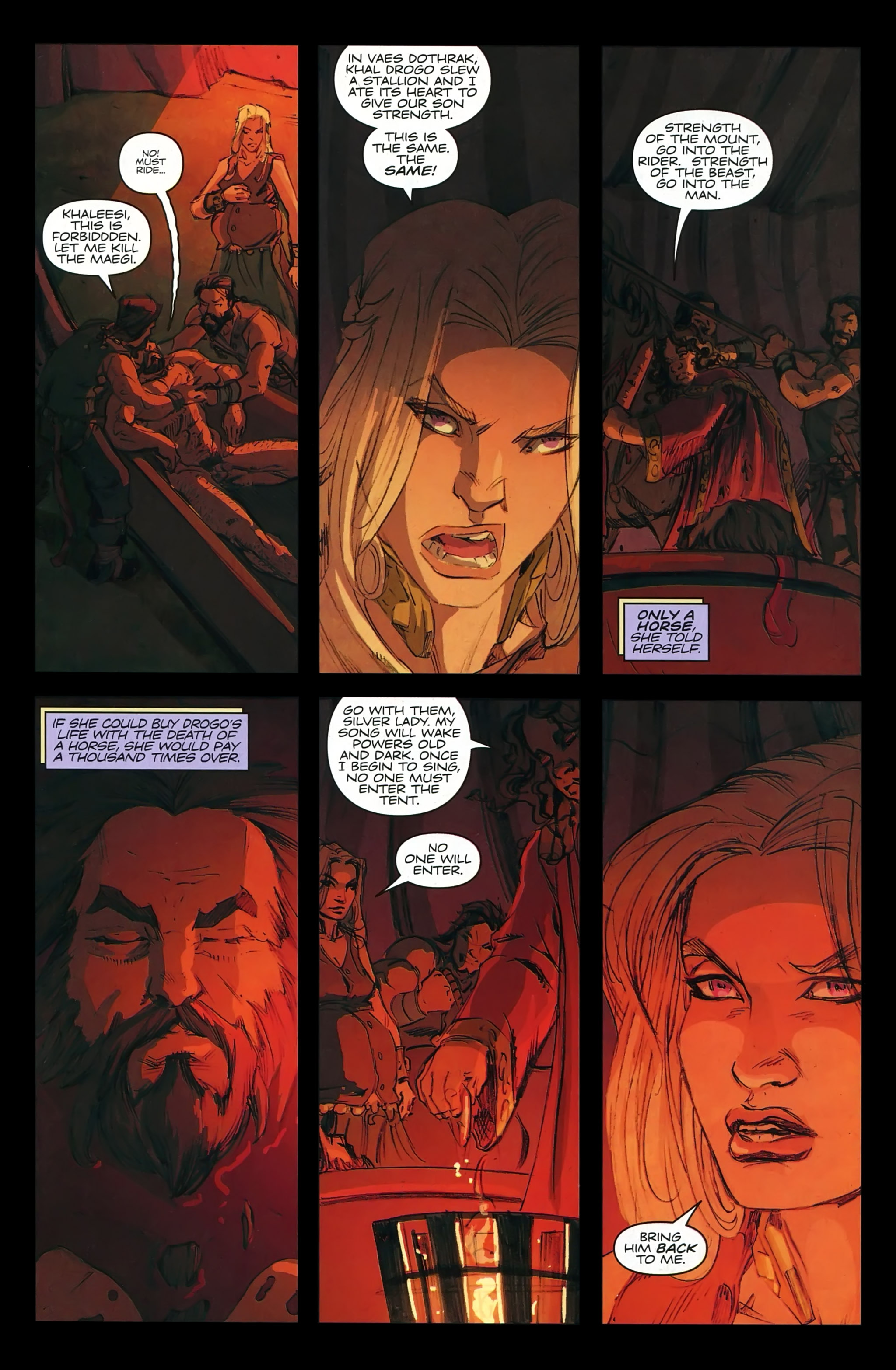 Read online A Game Of Thrones comic -  Issue #22 - 25