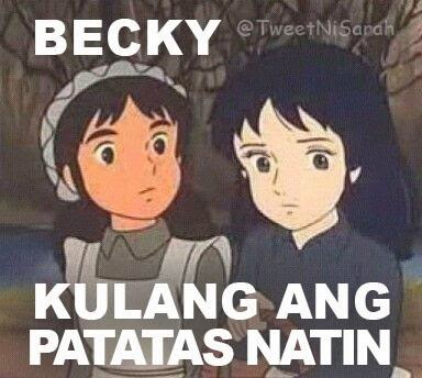 Funny Because Of The Theme Princess Sarah Is A Famous Tagalogize Anime Thats Equivalent Of Bakaya Telenovela People Love Her Because Of Like Juday