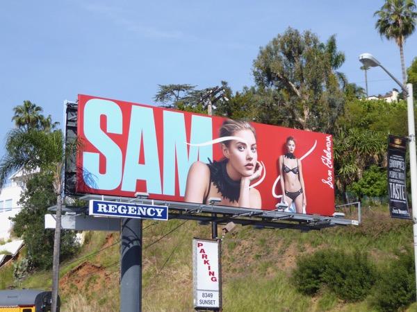 Sam Edelman Spring 2017 billboard