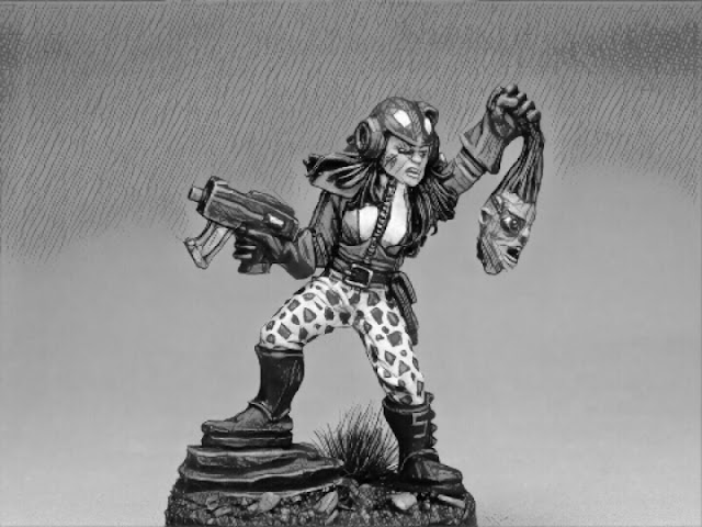 LEADPLAGUE Olivia Headhunter - Oldhammer special