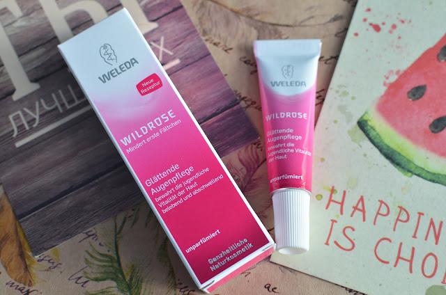 Weleda Wildrose Intensive Розовый крем для интенсивного ухода за кожей вокруг глаз
