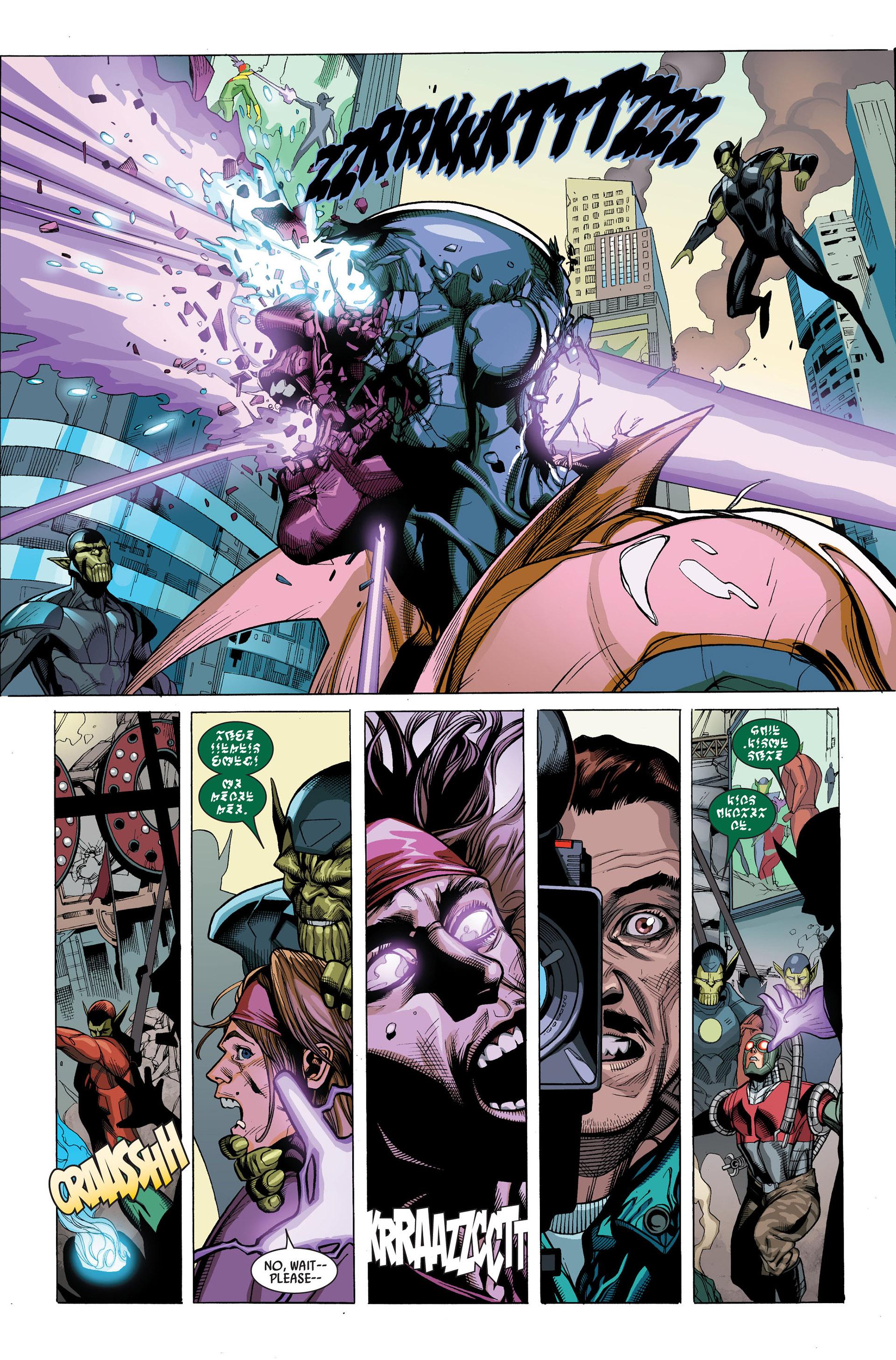 Read online Secret Invasion comic -  Issue #3 - 18