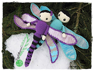 Ważki Dave i Lisa – Dragonflies Dave and Lisa by Zabbez