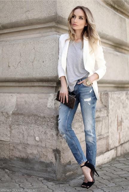blazers para dama