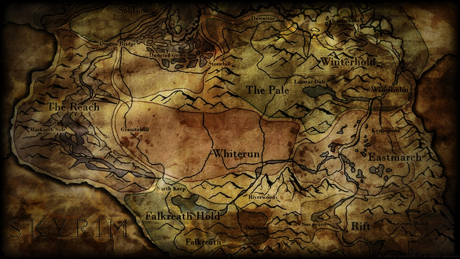 High Resolution Skyrim Maps GamingReality