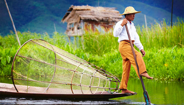 Inle Lake, Southeast Asia Natural attractions