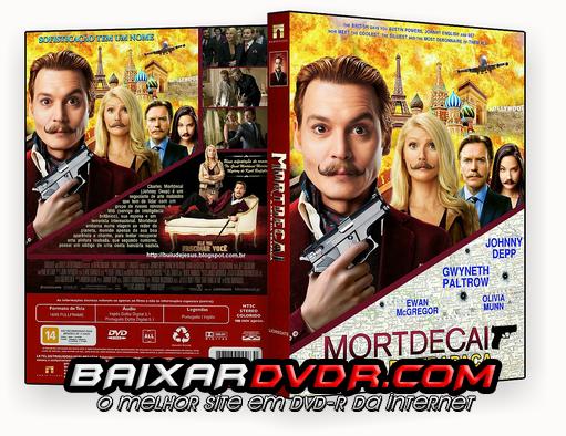 MORTDECAI – A ARTE DA TRAPAÇA (2015) DUAL AUDIO DVD-R