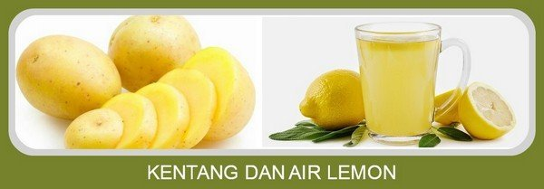 Kentang dan Air Lemon