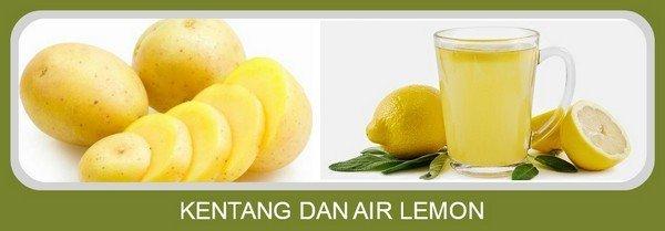 Kentang dan Air Lemon
