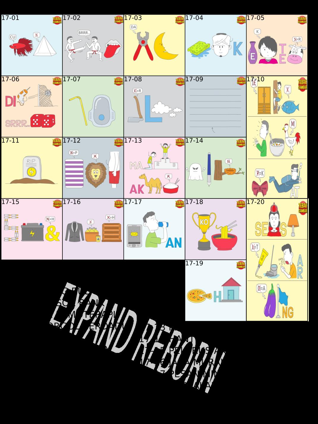 Expand Reborn Game Android Tebak Gambar Kunci Jawaban Part 2