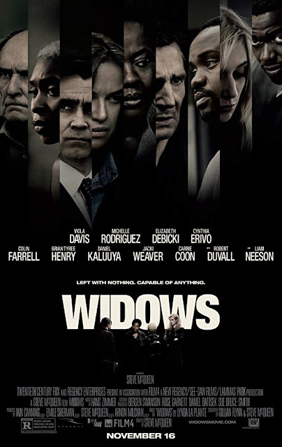 Widows 2018 movie poster Steve McQueen Viola Davis Michelle Rodriguez